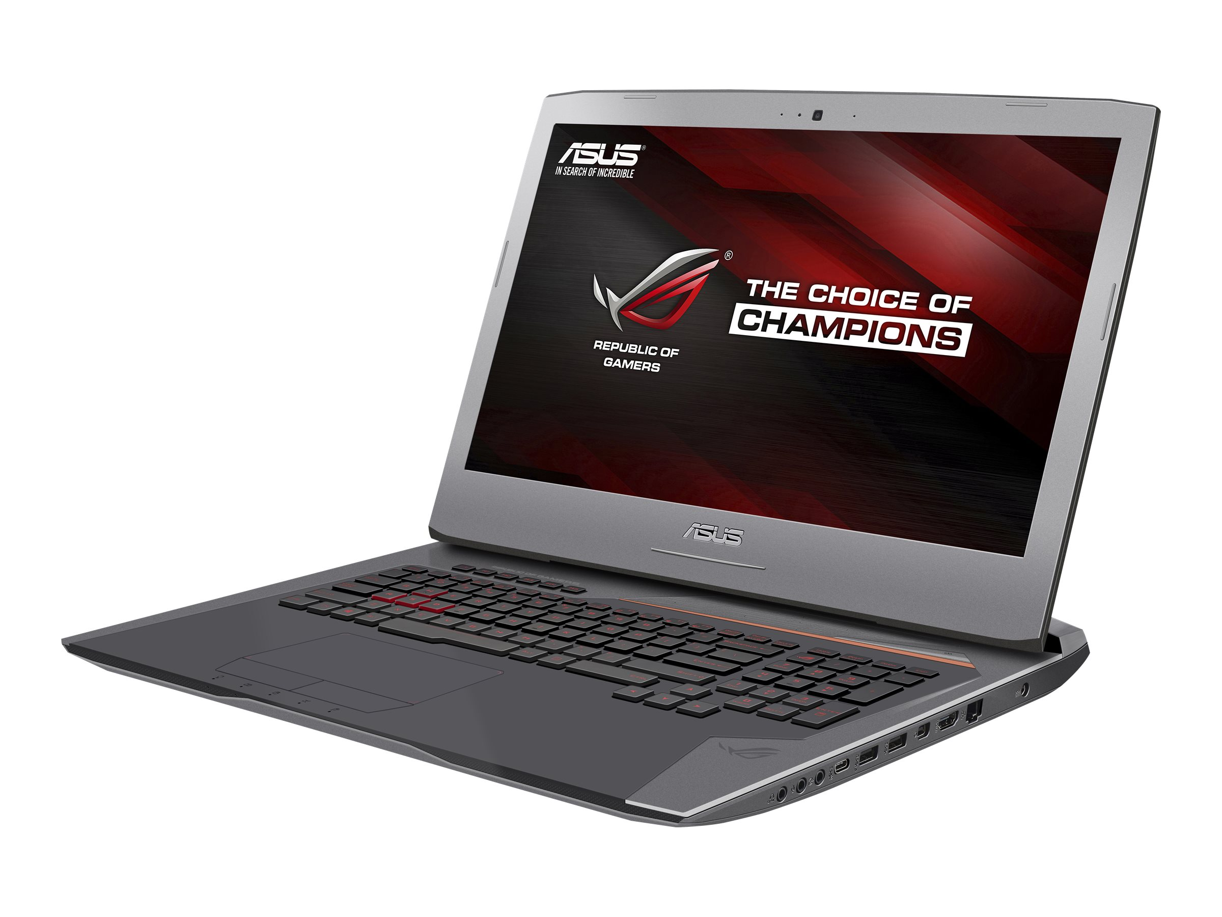 Asus G752VT-DH72 17.3 Notebook PC, G752VT-DH72, 30718996, Notebooks