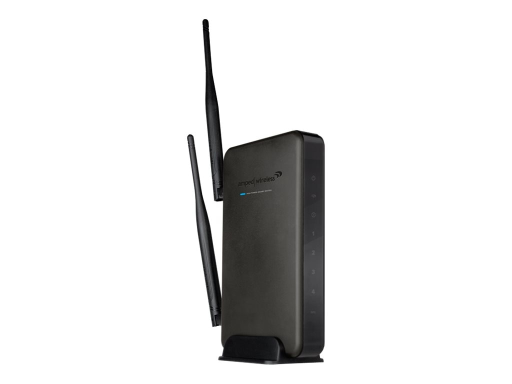 Amped Wireless High-Power Wireless-N 600mW Gigabit Router, R10000G, 14281309, Wireless Routers