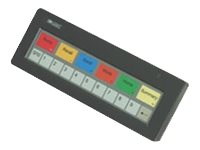 Logic Controls KB1700 17-Key Programmable Keypad, Black, KB1700B-BK-RJRJ, 11737729, Keyboards & Keypads