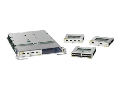 Cisco ASR 9000 Mod80 Packet Transport Optimized Modular Line Card -  Requires Modular Port Adapters, A9K-MOD80-TR