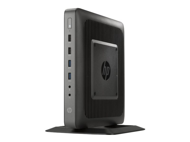 HP t620 Flexible Thin Client AMD GX-217GA 1.65GHz 4GB RAM 16GB Flash HD8280E GbE Smart Zero, G4S75UA#ABA