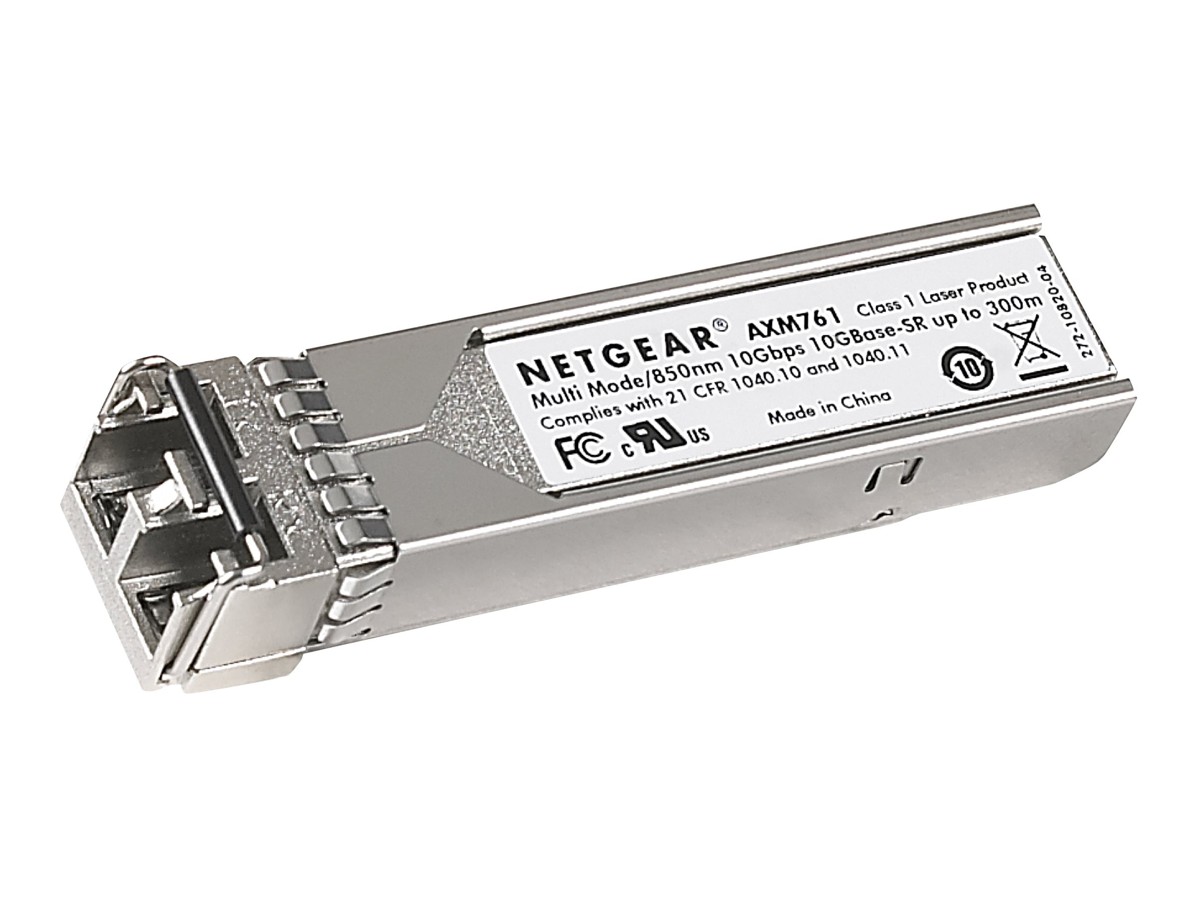 Netgear ProSafe 10GBase-SR SFP+ LC GBIC 10-Pack, AXM761P10-10000S