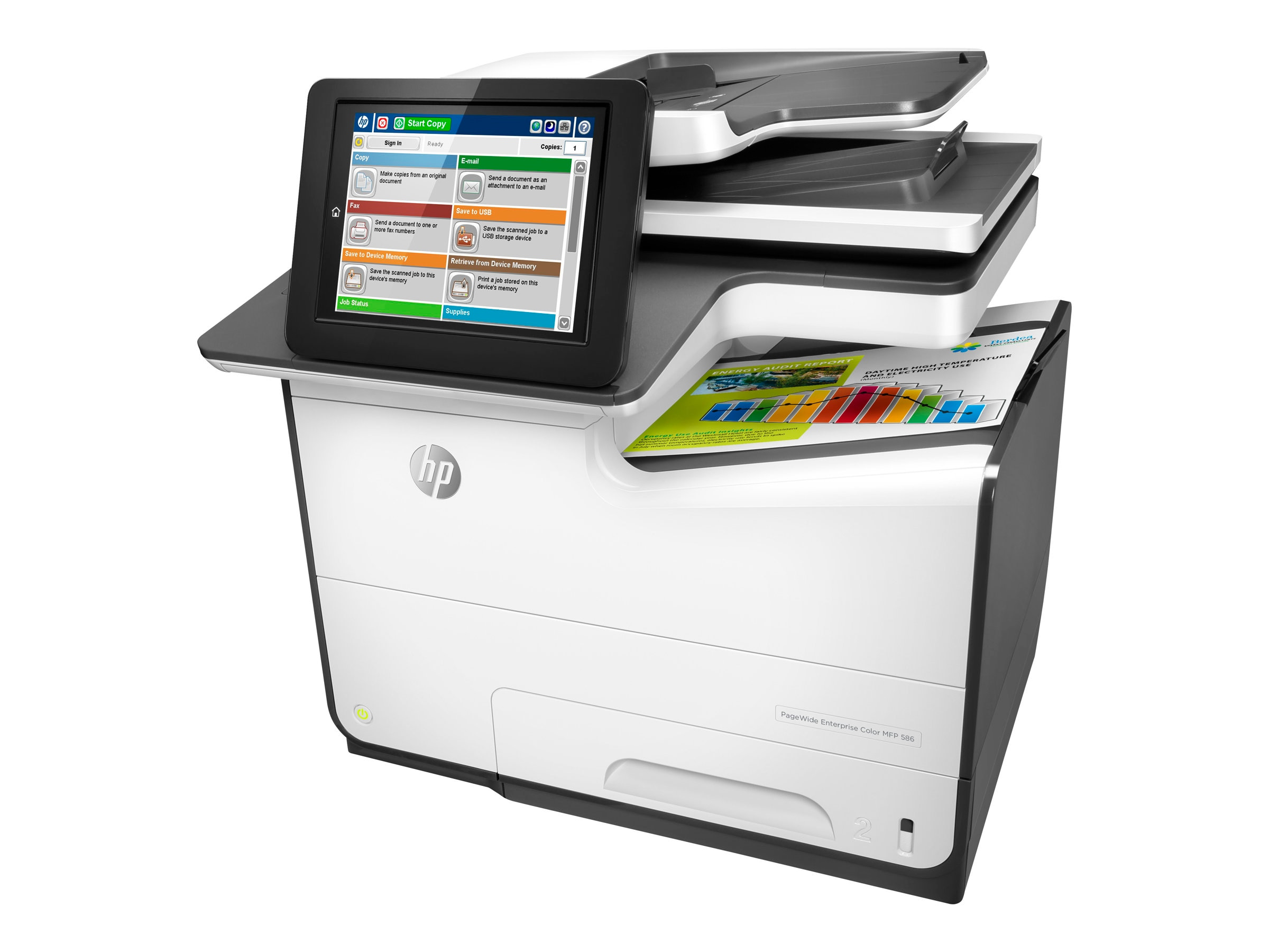 HP PageWide Enterprise Color MFP 586f ($2,299 - $690 Instant Rebate = $1,609 Expires 10 31)
