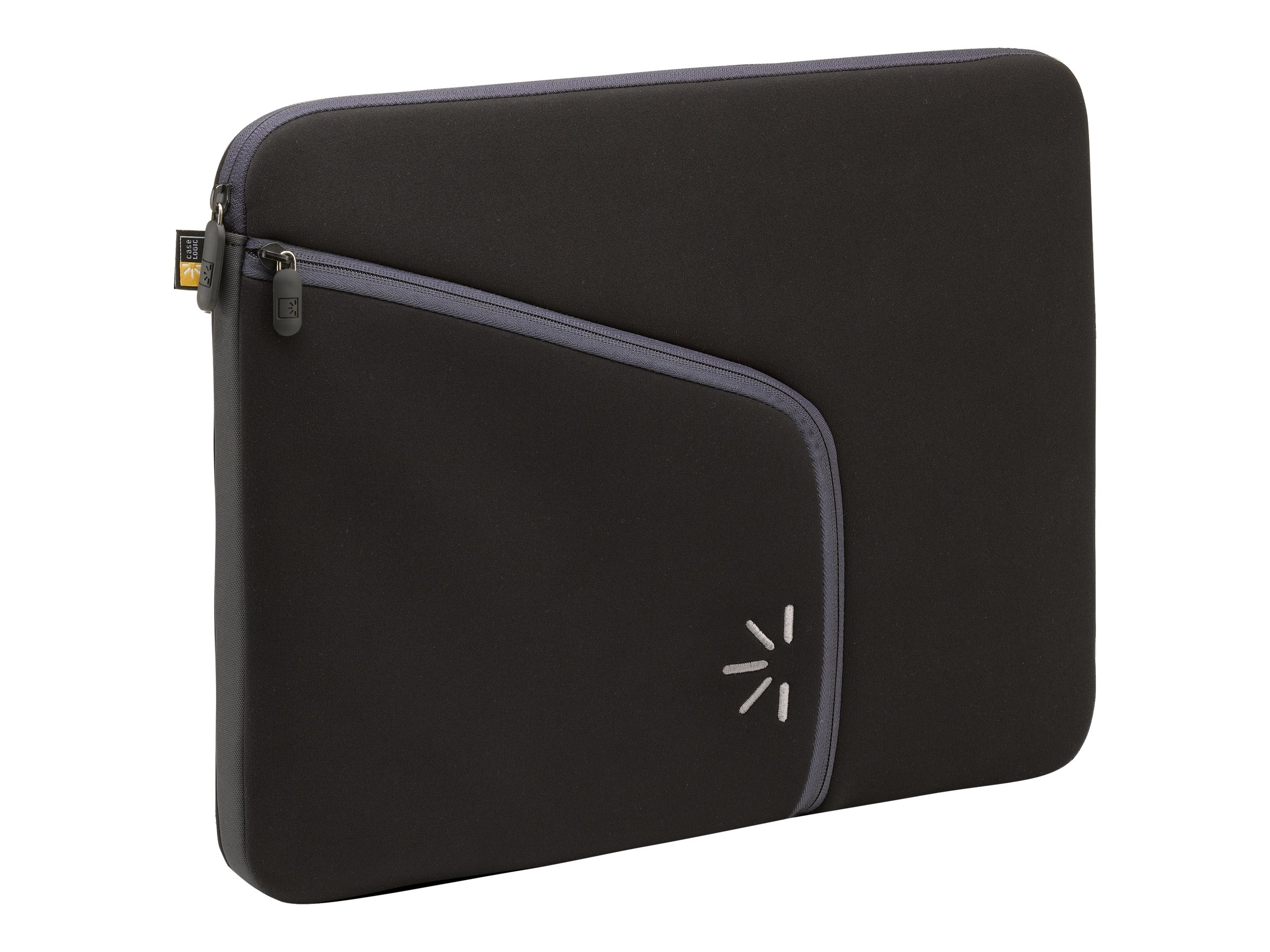 Case Logic 16 Neoprene Laptop Sleeve, Black, PLS-15 BLACK, 9870248, Protective & Dust Covers