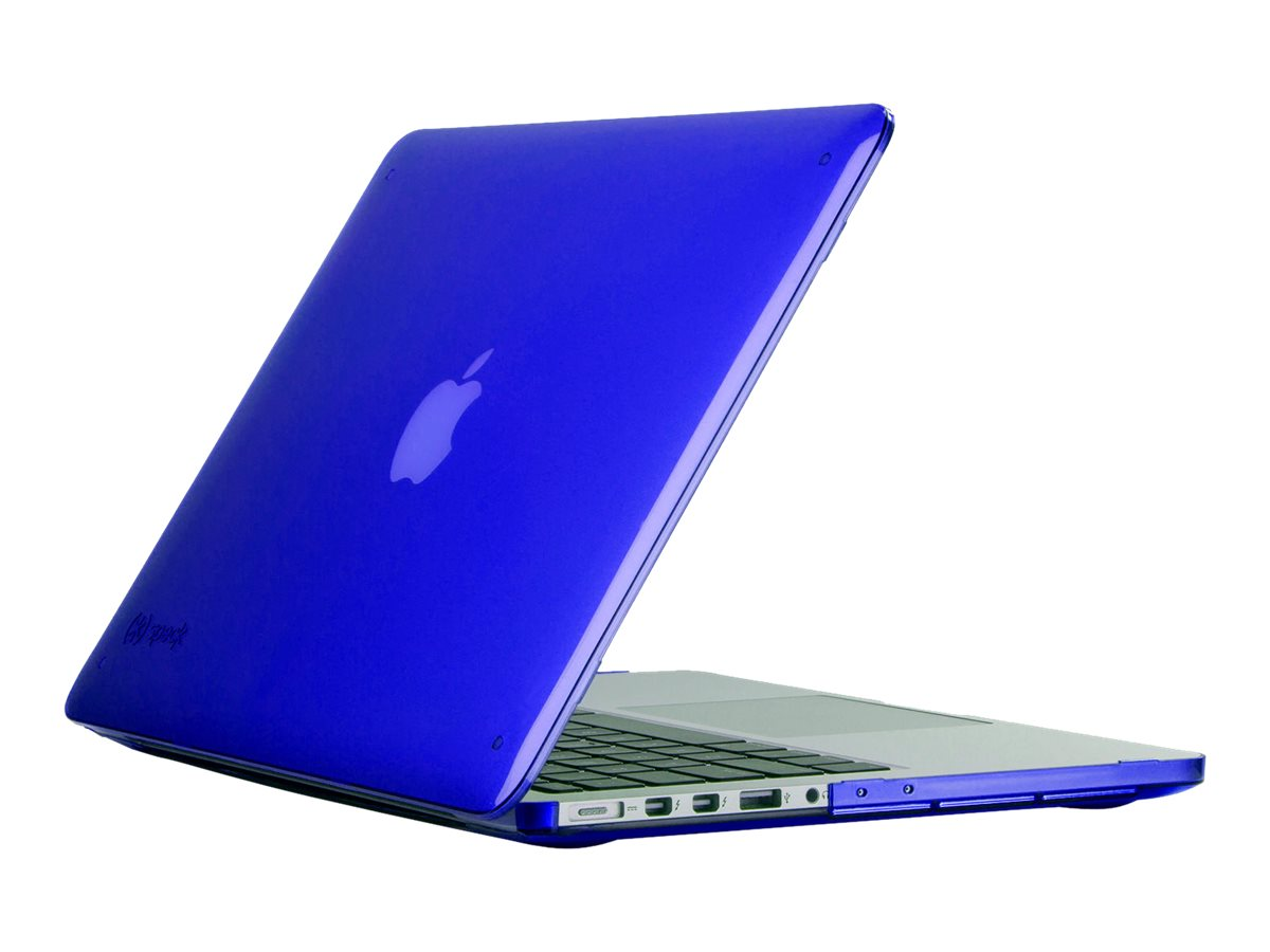 Speck See Thru Case for 15 MacBook w  Retina Display, Cobalt, SPK-A3305, 30606290, Carrying Cases - Notebook