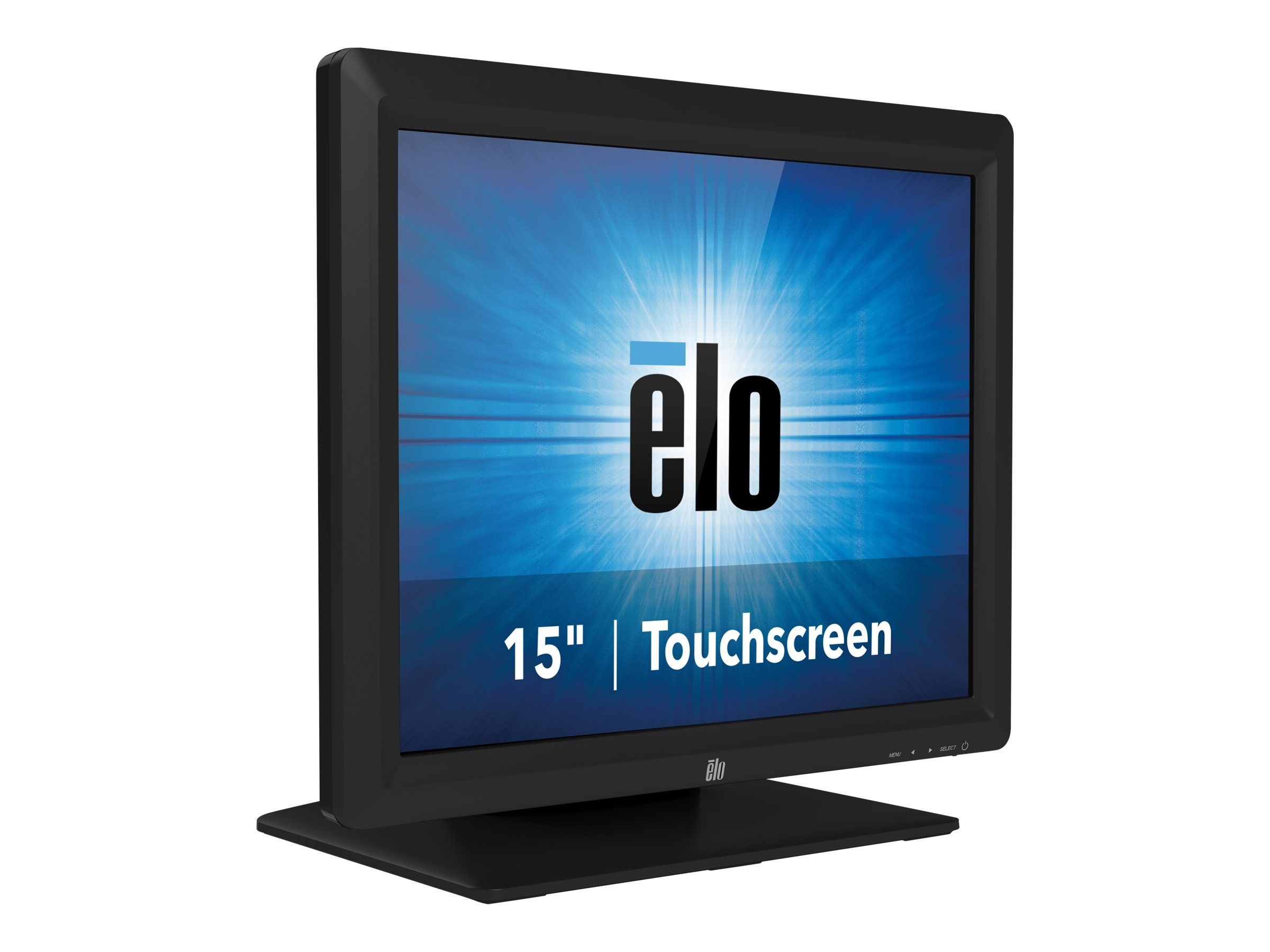 ELO Touch Solutions 15 1517L LED-LCD IntelliTouch Monitor, Black, E344758