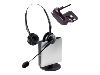 Jabra GN9125 Flex Noise Canceling Headset with GN 1000 Remote Handset Lifter, 9125-808-215