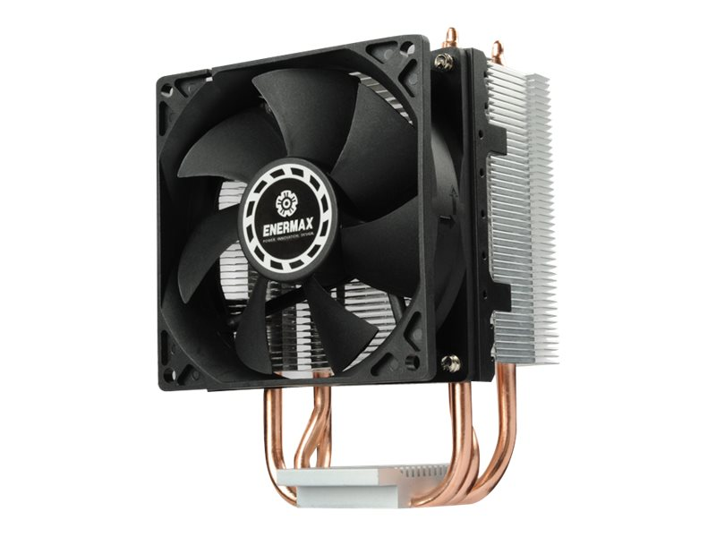 Enermax ETS-N30R-HE CPU Cooler with High-Efficiency 9cm Fan and PWM Control, Black