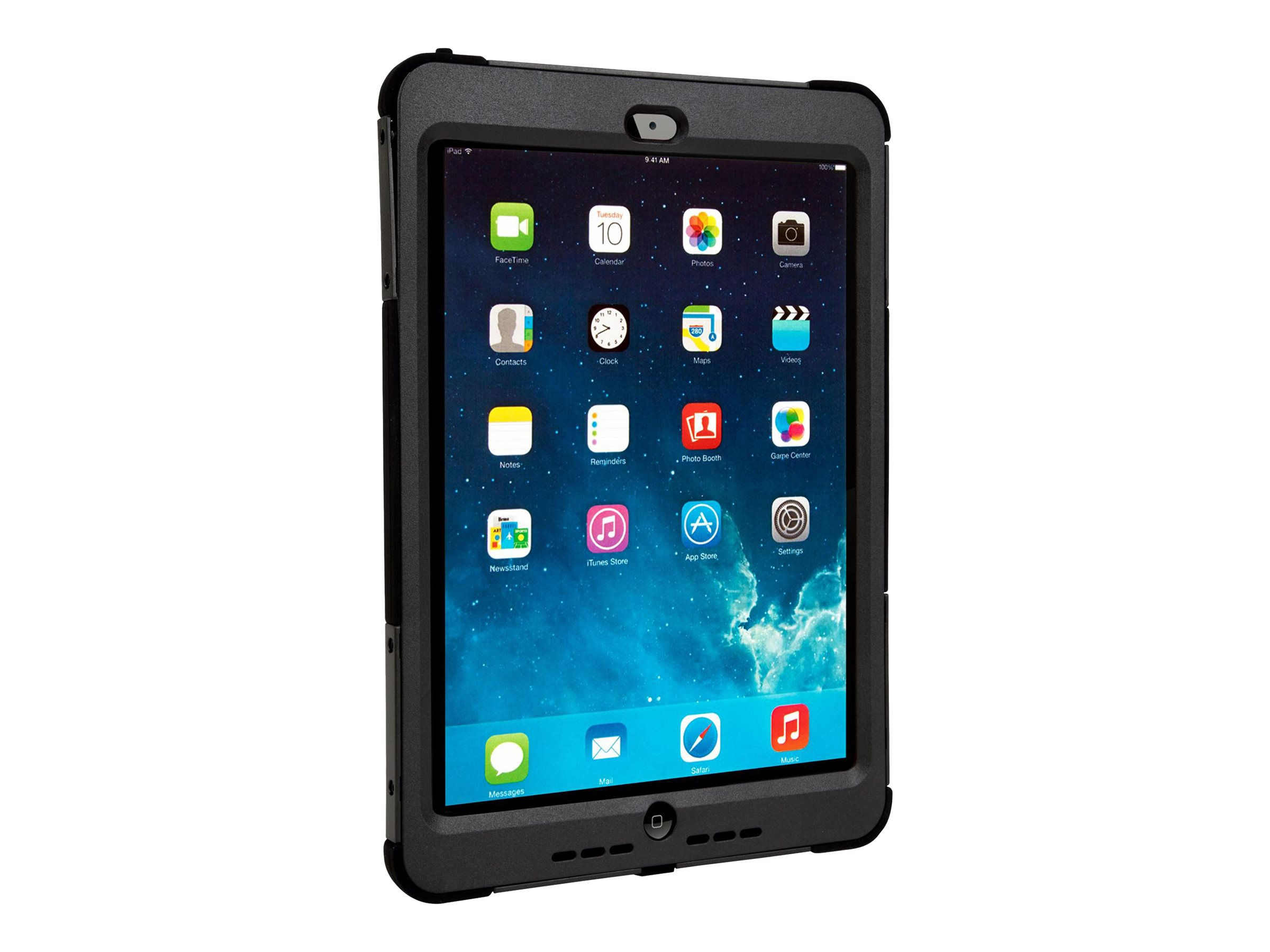 Targus Rugged Max iPad Air 2 9.7, Black, THD124USZ, 18016810, Carrying Cases - Tablets & eReaders