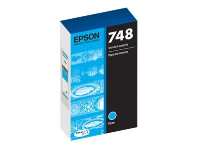 Epson Cyan 748 Ink Cartridge, T748220
