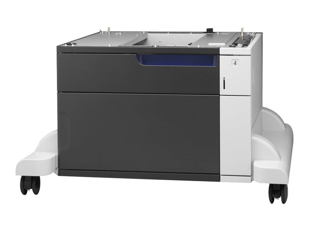 HP LaserJet 1X500-sheet Feeder & Stand for HP Color LaserJet Enterprise M750dn & M775 Series