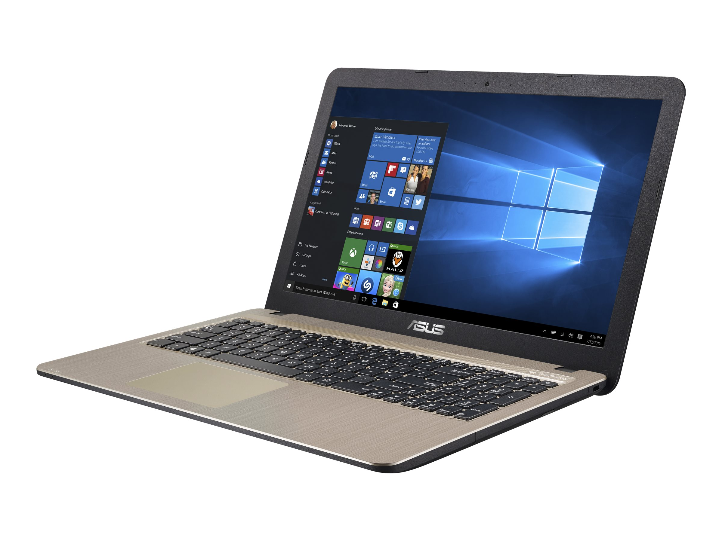 Asus Notebook PC Celeron N3050 4GB 500GB 15.6, 90NB0B31-M01140