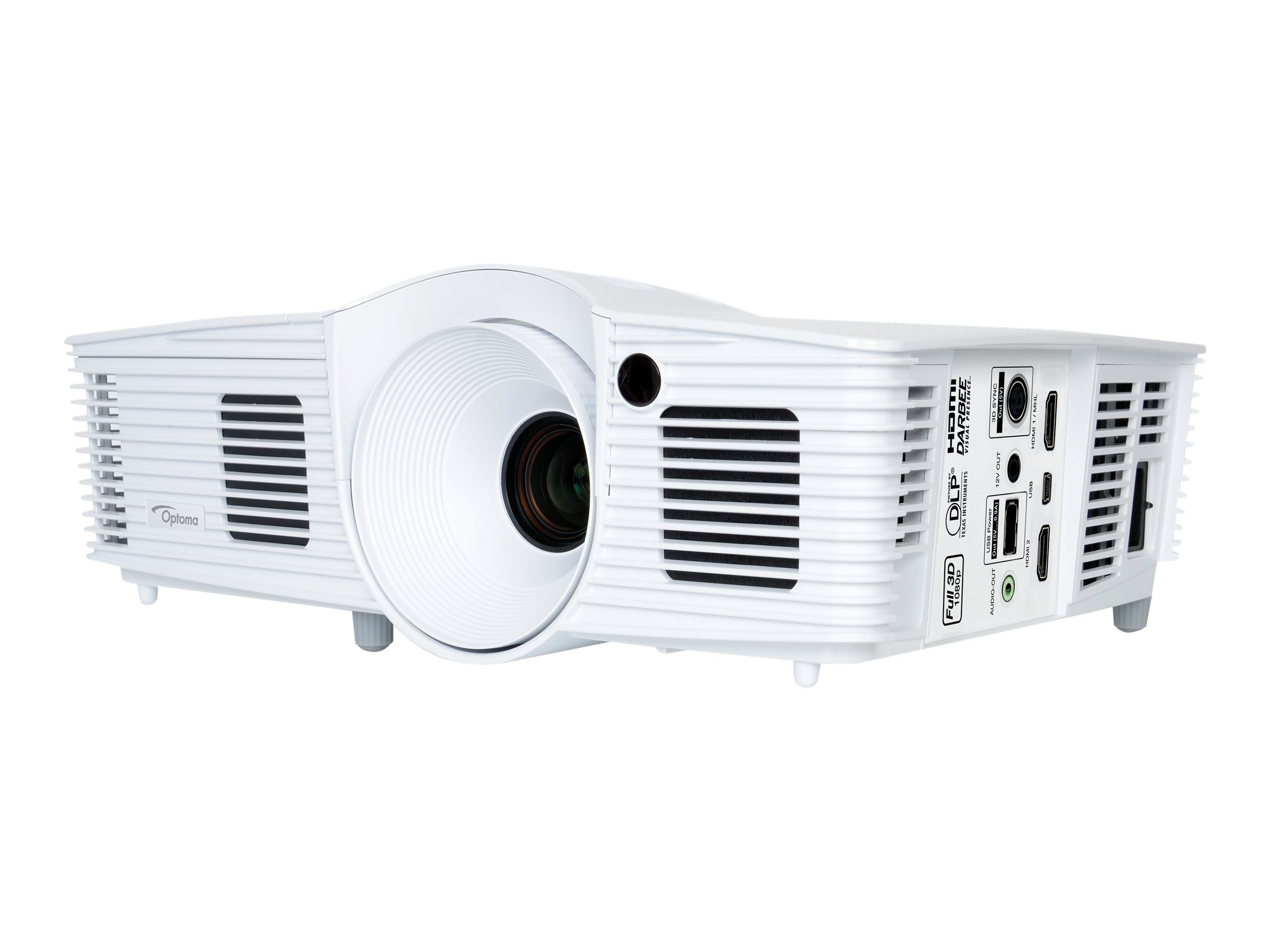 Optoma HD28DSE Full HD 3D DLP Projector, 3000 Lumens