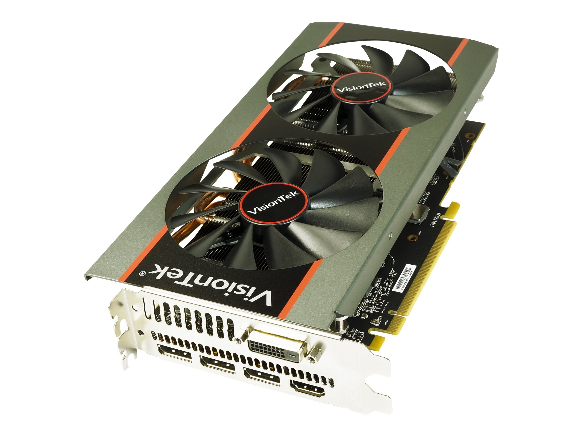 VisionTek Radeon RX 580 PCIe x16 Overclocked Graphics Card, 8GB GDDR5