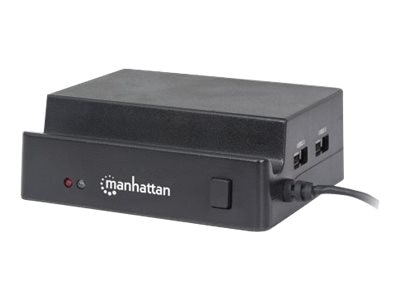 Manhattan 3-Port USB 2.0 Hub 42-in-1 Card Reader Writer, 406246, 17828841, PC Card/Flash Memory Readers