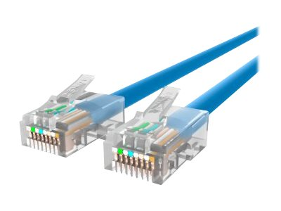 Belkin Cat5e Non-Booted UTP Patch Cable, Blue, 7ft