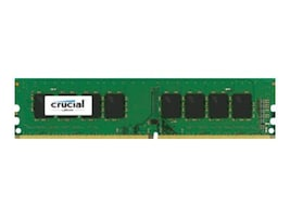 Crucial 16GB PC4-19200 288-pin DDR4 SDRAM UDIMM, CT16G4DFD824A, 32047129, Memory