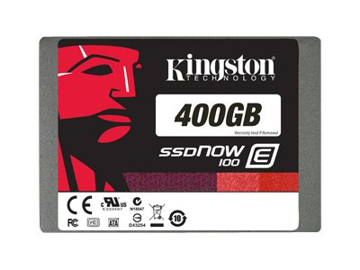 Kingston 400GB SSDNow E100 SATA 6Gb s 2.5 Internal Solid State Drive