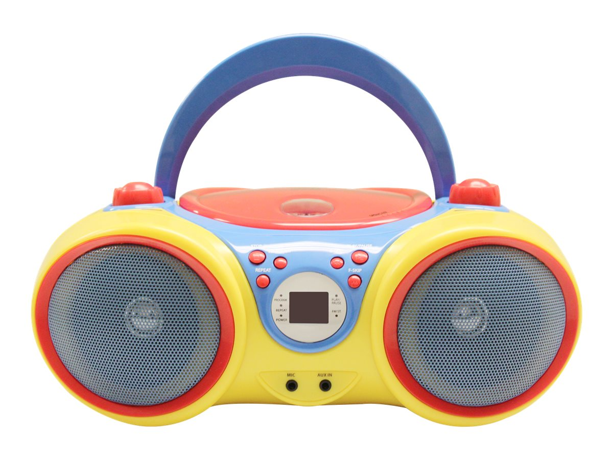Ergoguys Kids CD Player w  Karaoke Machine & Microphone