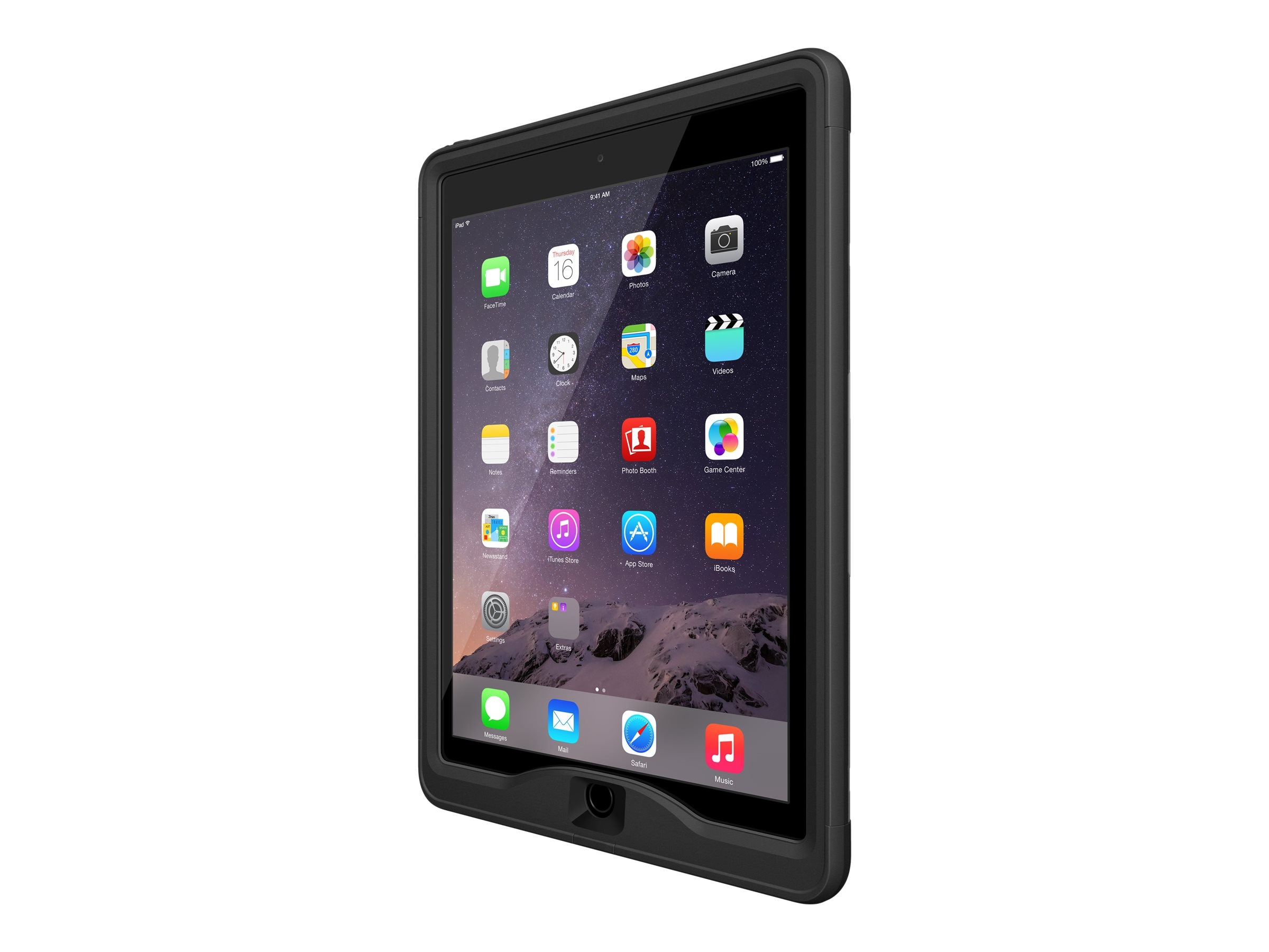 Lifeproof nuud Case for iPad Pro 9.7, Black