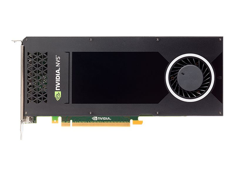 PNY NVIDIA NVS 810 PCIe 3.0 x16 Graphics Card, 4GB DDR3, VCNVS810DP-PB