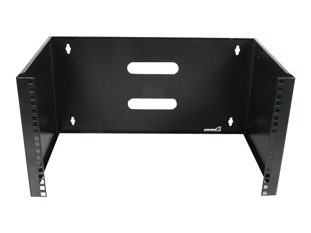 StarTech.com 6U (12in) Deep Wall Mounting Bracket for Patch Panel, WALLMOUNT6