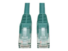 Tripp Lite Cat6 UTP Gigabit Ethernet Patch Cable, Green, Snagless, 7ft, N201-007-GN, 367670, Cables