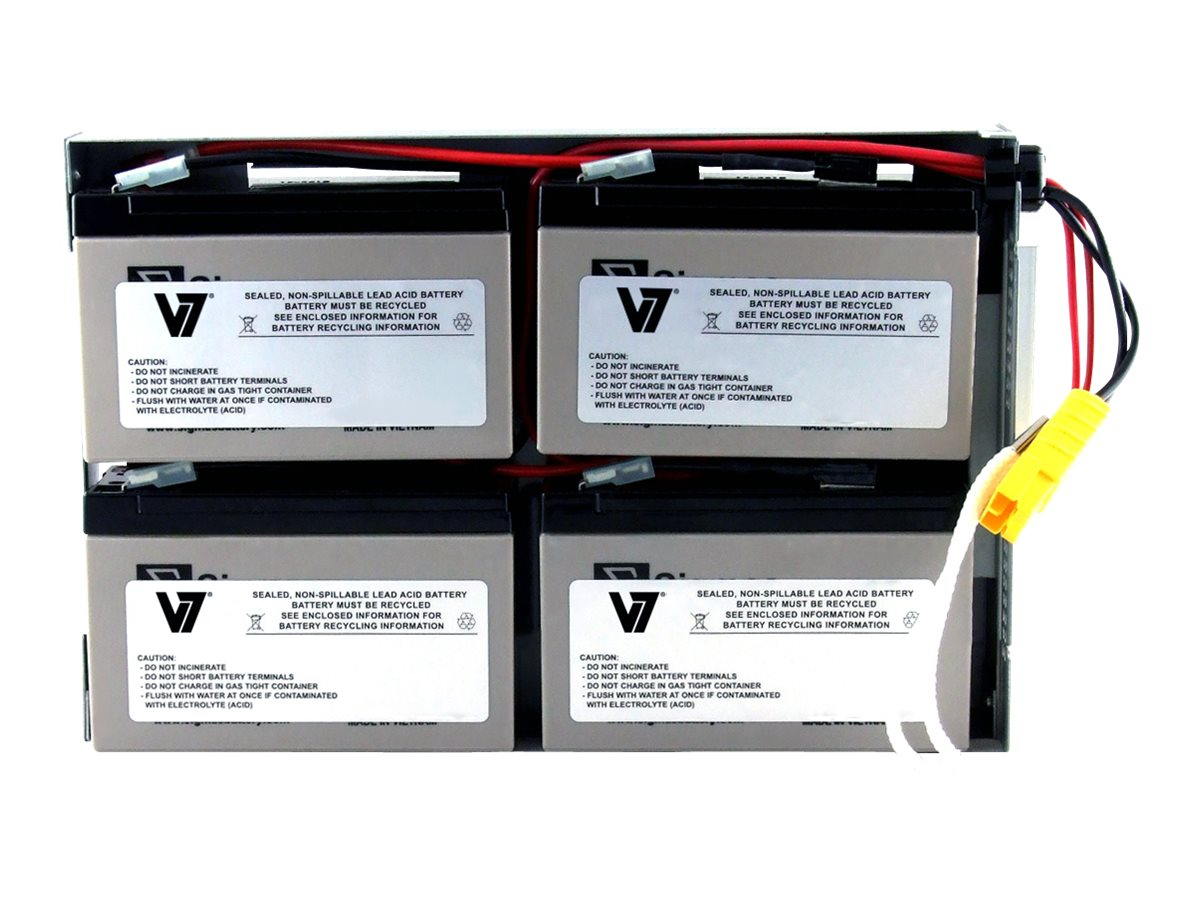 V7 Replacement UPS Battery for APC # RBC24, RBC24-V7, 21483734, Batteries - Other