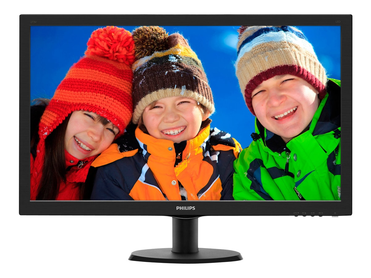 Philips 27 3V5LHSB LED-LCD Monitor with SmartControl Lite, Black