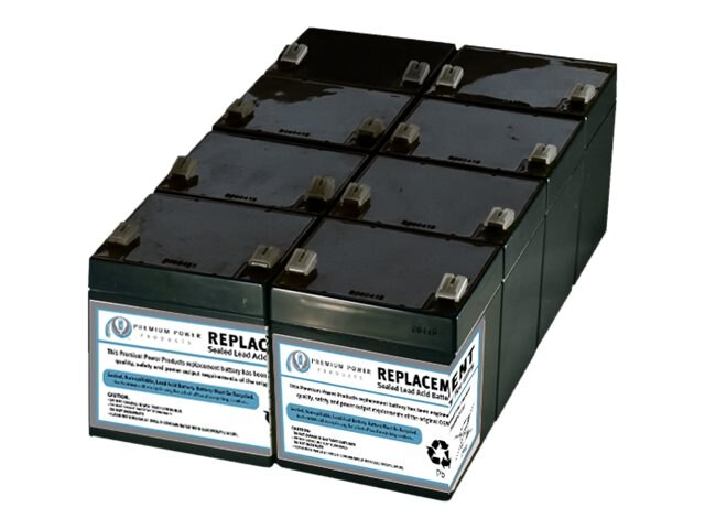 Ereplacements APC RBC43 Battery, SLA43-ER, 17562544, Batteries - Other