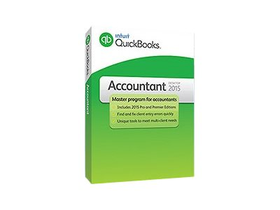 Intuit QuickBooks Accountant 2015 10 users, 424435, 18216088, Software - Financial
