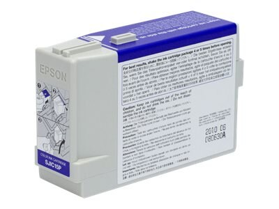 Epson 3-Color Ink Cartridge for SecurColor & TM-C3400 Printers, C33S020464, 10664020, Ink Cartridges & Ink Refill Kits