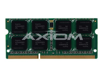 Axiom 2GB PC3-10600 DDR3 SDRAM SODIMM for Select Latitude, Precision, Vostro Models, A3418016-AX