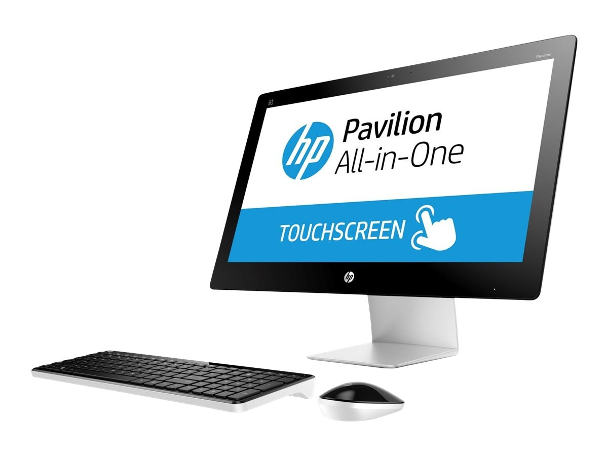 HP Pavilion 23-q010 AIO AMD A8-7410 4GB 1TB DVDRW WL BT 23 W8.1, L9K88AA#ABA, 23511356, Desktops - All-in-One