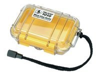 Pelican 1010 Clear Micro Case, Yellow, 1010-027-100, 11751467, Protective & Dust Covers