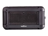 VEHO Mini Water Resistant Wireless Speaker - Black, VXS001BLK