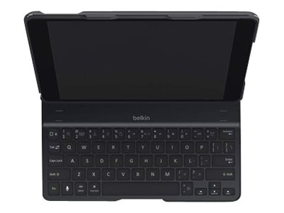 Belkin QODE Ultimate Keyboard Case for iPad Air, Black, F5L151TTBLK