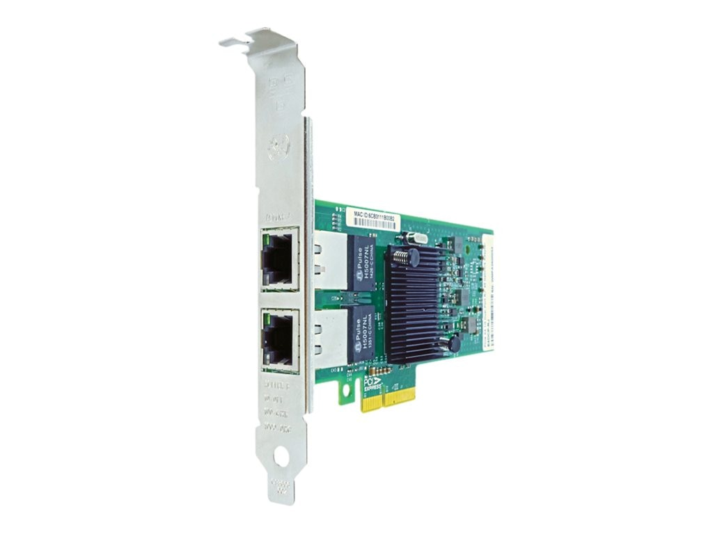 Axiom PCIe x4 1Gbs Dual Port Copper Network Adapter