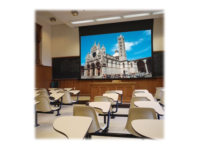 Draper Access XL Series V  Electric Projection Screen, M1300, 16:10, 255, 102828L, 13701711, Projector Screens