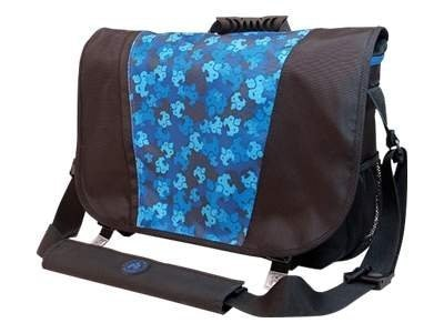 Mobile Edge Sumo Messenger Bag, Black Blue, ME-SUMO33MB3, 11018759, Carrying Cases - Notebook