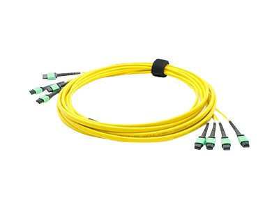 ACP-EP Fiber SMF Trunk 48 4MPO x 4MPO Female Type A OS1 Cable, 3m, ADD-TC-3M48-4MPF1