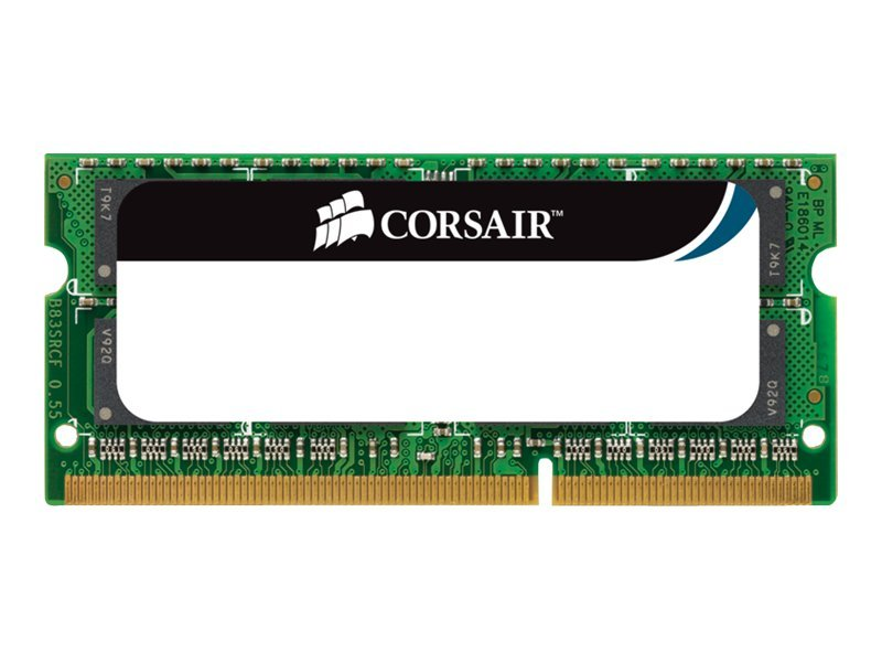 Corsair 4GB PC3-8500 204-pin DDR3 SDRAM SODIMM Kit for Select Apple iMacs, Macbooks, Macbook Pros, CMSA4GX3M1A1066C7