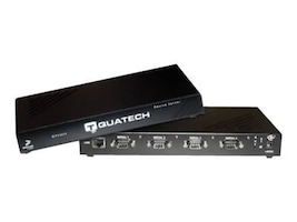 Quatech 4 port RS-232 Serial Device Server (DB9), Surge, QSE-100D-SS, 7624289, Remote Access Hardware