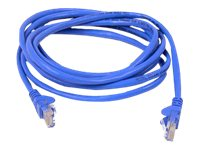 Belkin Cat5e Non-Booted UTP Shielded Molded Patch Cable, Blue, 2ft