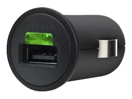 Belkin Micro Car Charger 2.1A for iPhone iPod iPad, F8Z689Q, 14670523, Automobile/Airline Power Adapters