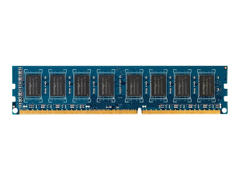 HP 4GB PC3-12800 240-pin DDR3 SDRAM DIMM for Select Elite, Pro Series Models, B4U36AA, 14400355, Memory