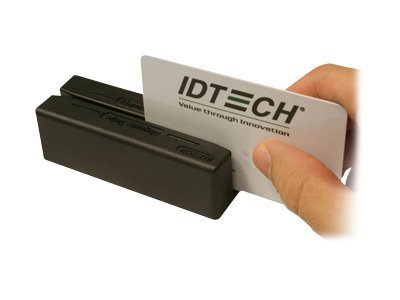ID Tech MiniMag 2 USB Interface, Keyboard Emulation, 3-Track,  Black, IDMB334133B
