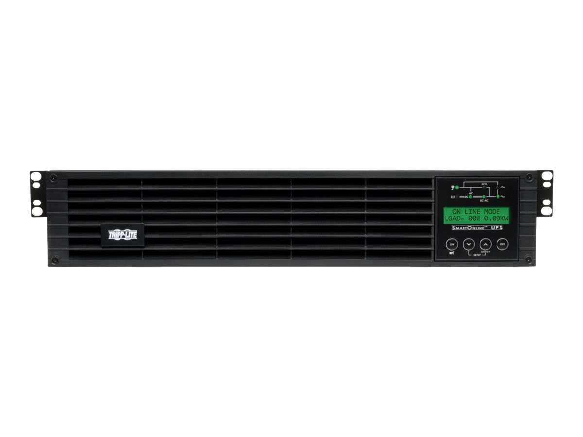 Tripp Lite SmartOnline 2.2kVA 120V, Double-conversion Online UPS 2U Rack Tower, Instant Rebate - Save $20, SU2200RTXLCD2U