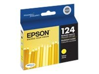 Epson Yellow 124 Moderate-Capacity Ink Cartridge