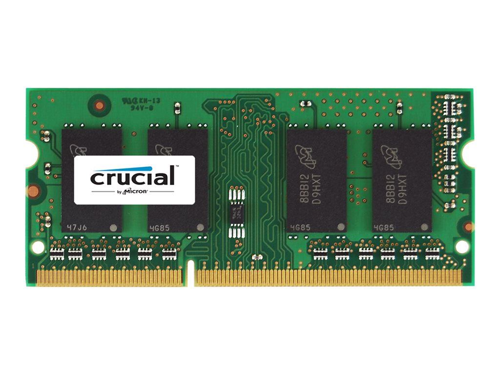 Crucial 8GB PC3-12800 204-pin DDR3 SDRAM SODIMM, CT102464BF160B